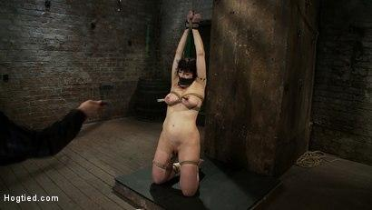 Kink.com- Actual member of the site applies to model _amp; is accepted.This big titted MILF is bound _amp; abused.