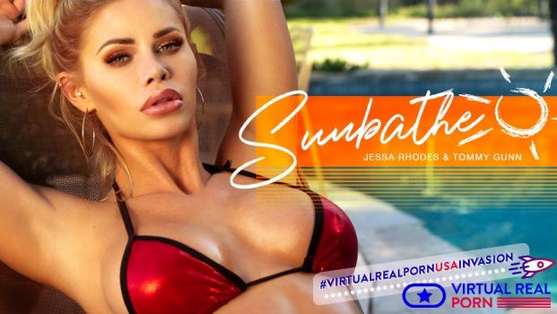 Vrporn.com- Sunbathe-Hottest and_nbsp;Wildest Blonde Jessa Rhodes