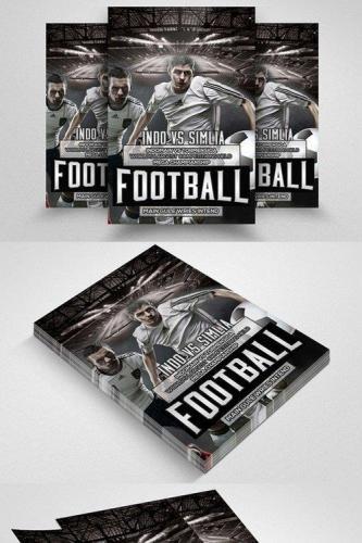 Super Football Match Flyer