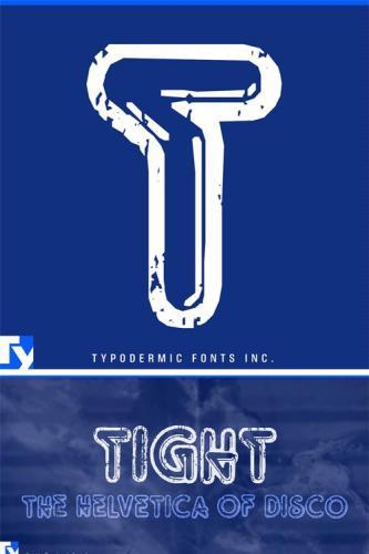 Tight Font