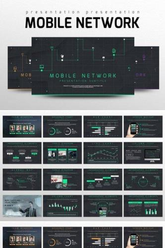 Mobile Network PowerPoint Templates