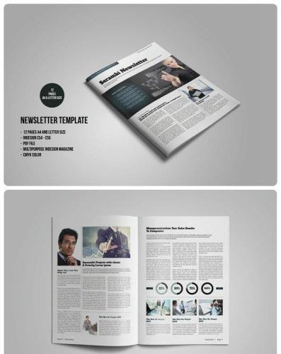 Multipurpose Newsletter 548854