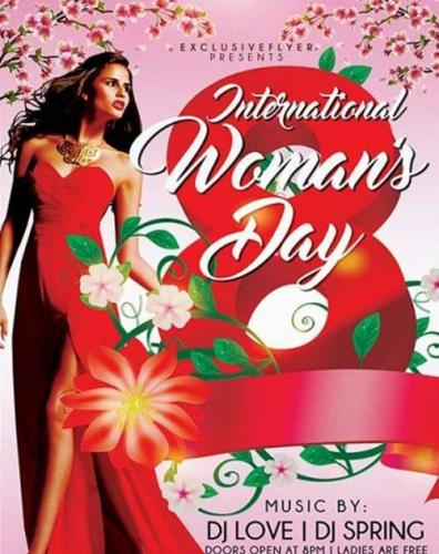 Womens Day Celebration Premium Flyer Template