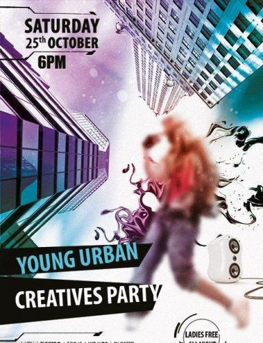 Young Urban Creatives Party Flyer