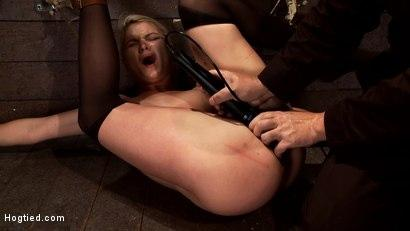 Kink.com- Shy sexy blond girl is trapped_bound_humiliatedLong legs spread wide_made to cum like a whore