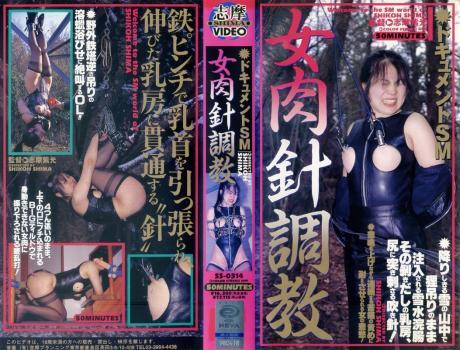 [SS-0314] ドキュメントSM 女肉針調教 志摩プランニング 志摩ビデオ 1998/02/10