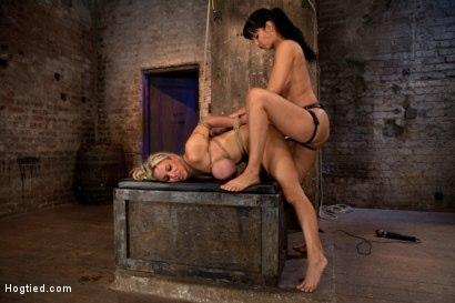 Kink.com- Hot MILF_is throat fucked_strap on fucked and made to cum over and over!OH THE HUGE-MAMMARIES!