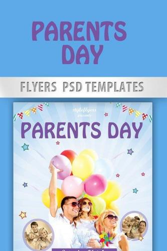 Parents Day Flyer PSD Template