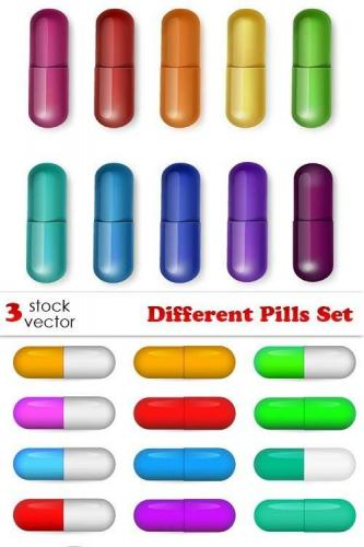 Vectors - Different Pills Set