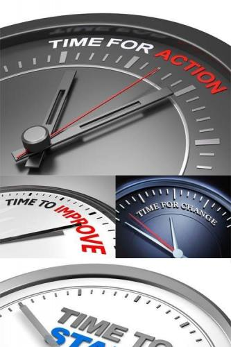 Photos - Business Concepts with Clocks