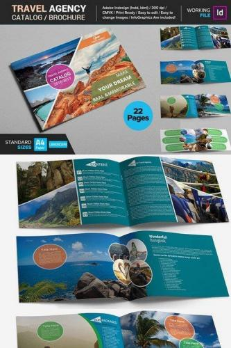 Travel Agency Catalog - Brochure