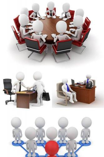 Photos - 3D Business People 7