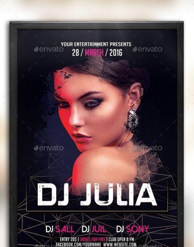 DJ Flyer 15412685