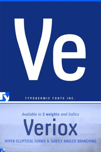 Veriox Font Family
