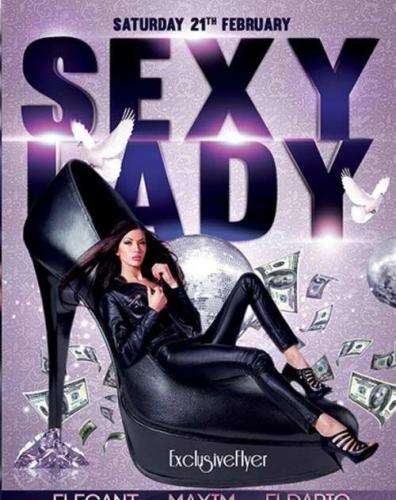 Sexy Lady Night Premium Flyer Template
