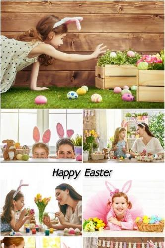 Easter, family preparation for the holiday