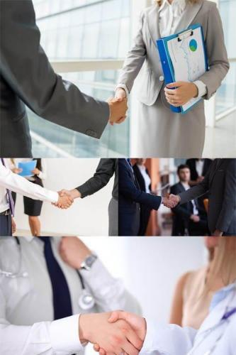 Photos - Business Handshake Set 10