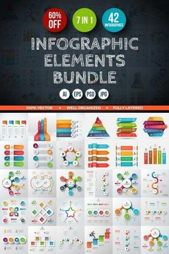 Infographic Elements Bundle 547081