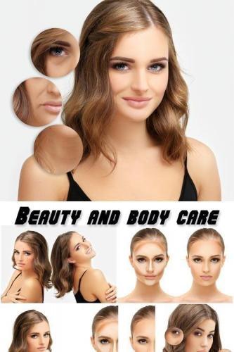 Beauty and body care, beautiful women