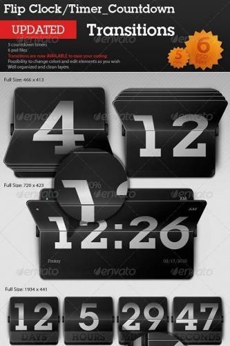 Flip Clock - Countdown Timer