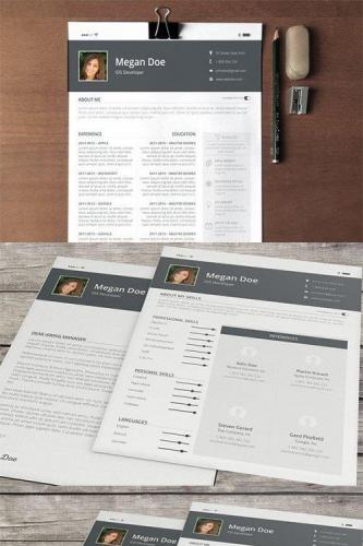 iOS Feel Resume & Cover Letter