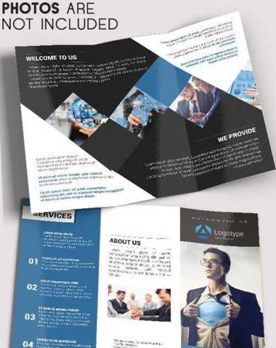 Business Brochure Tri-Fold Brochure