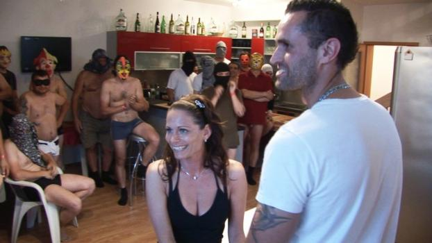 Czechav.com- Beautiful wife and a horde of horny guys