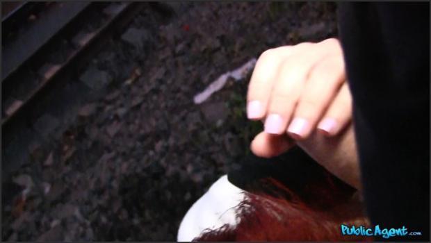 Fakehub.com- Redhead Gives Sloppy Blowjob And Fucks Stranger
