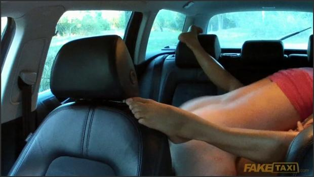 Fakehub.com- Cabbie Drives Babe With Big Tits Around All Day To Fuck