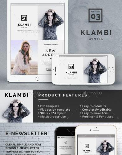 Klambi Email Newsletter III