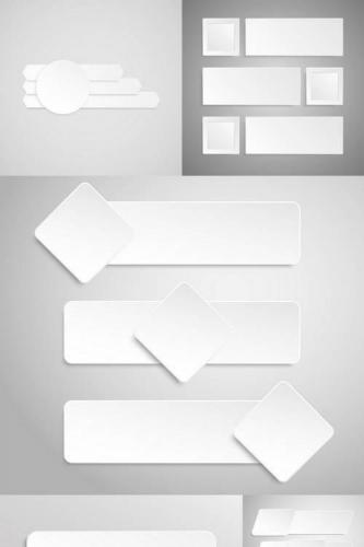 Paper Line Banners Template