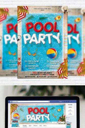 Pool Party - Flyer Template