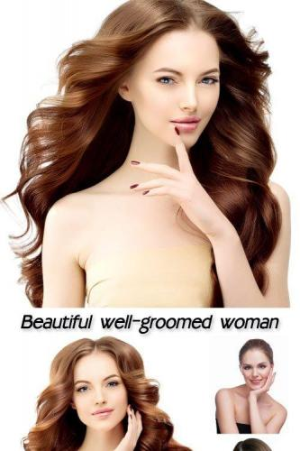 Beautiful well-groomed woman