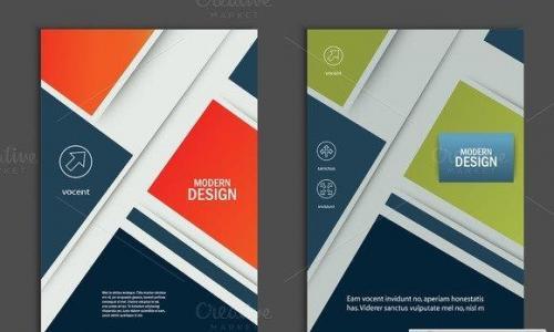 Brochure design layout