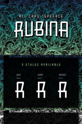 Rubina Font