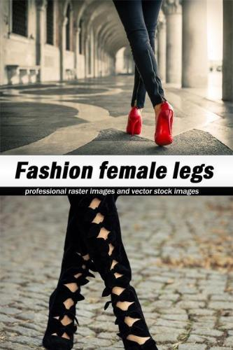 Fashion female legs