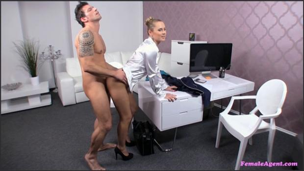 Fakehub.com- Agent Gets Her Pussy Filled With Cock And Goes Out With A Bang