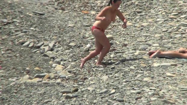 NudeBeachdreams.com- Nudist video 00980-Real nudists, beautiful girl, milf