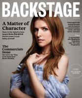 Anna Kendrick -          Backstage Magazine May 2020.