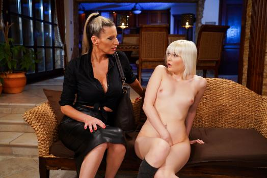 Old Young Lesbian Love – Conchita And Miss Melissa