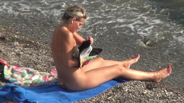 NudeBeachdreams.com- Nudist video 01123-Real nudists, beautiful girl, milf