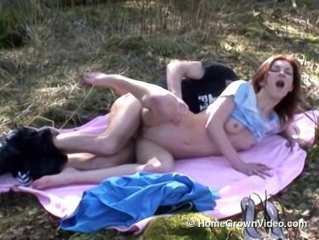 Homegrownvideo.com- Ginta Gets Fucked By A Stranger In The Woods-Real people, beautiful girl, milf