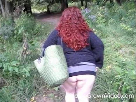 Homegrownvideo.com- Big Beautiful Redhead Jennifer Takes Outdoor Dick-Real people, beautiful girl, milf