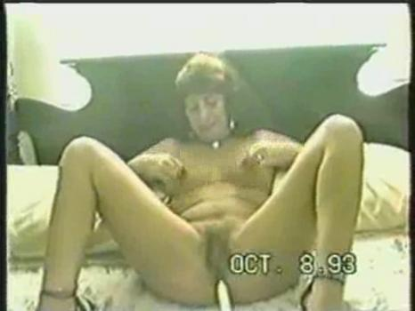 Homegrownvideo.com- Mature Brunette Wanks With Two Different Dildos