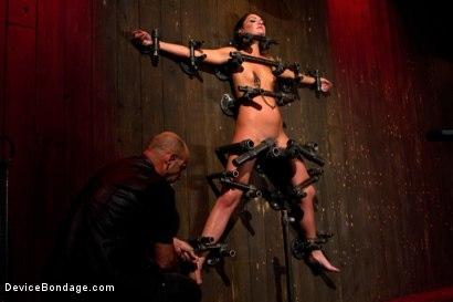 Kink.com- Young slut feels the wrath of inescapable devices while enduring extreme torture