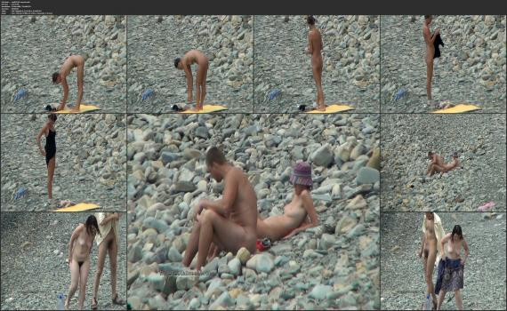 NudeBeachdreams.com- Nudist video 01330-Real nudists, beautiful girl, milf