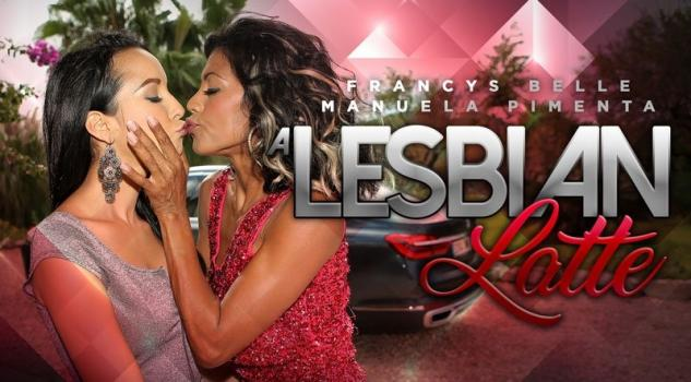 Vrporn.com- A Lesbian Latte-Latina Babes Wet and Wild Sex