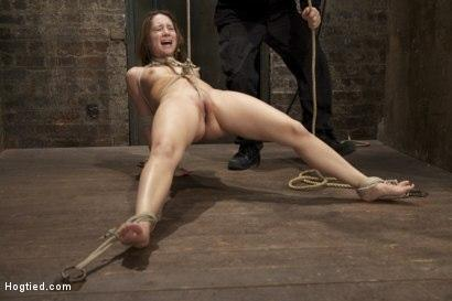 Kink.com- Cute girl next door_bound_face fucked_made to cum over _amp; over_brutal bondage and pussy torture!