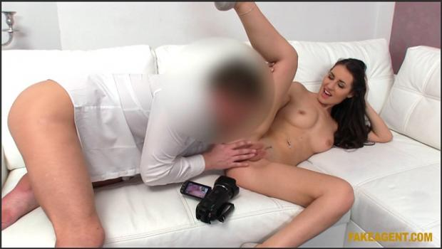 Fakehub.com- Agent Fills Beautiful Brunette_s Pussy With His Cock