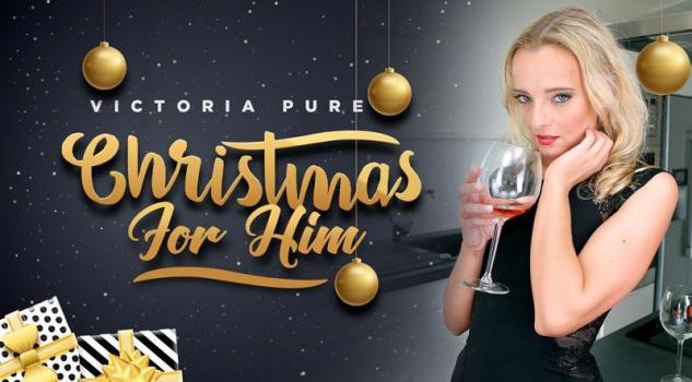 Vrporn.com- Christmas For Him-Sexy Blonde Babe Hardcore Sex VR